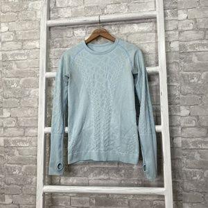 Lululemon Rest Less Pullover Caspian Blue